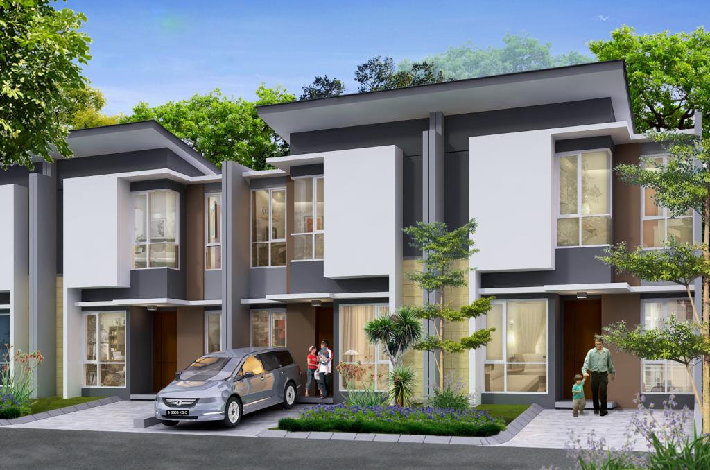 Desain Rumah Cluster dan Townhouse